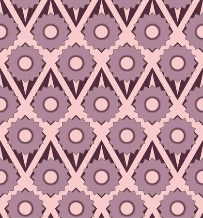 Pastel flowers seamless pattern