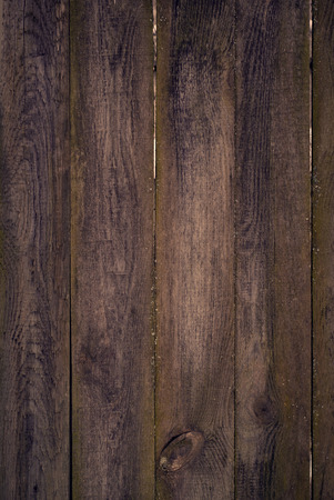 degradation: Old dark brown wooden surface