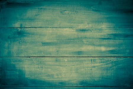 Blue wooden surface in denim jeans style photo