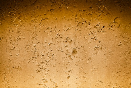 tinting: Abstract background - old metal surface with a shabby paint. Image tinting.