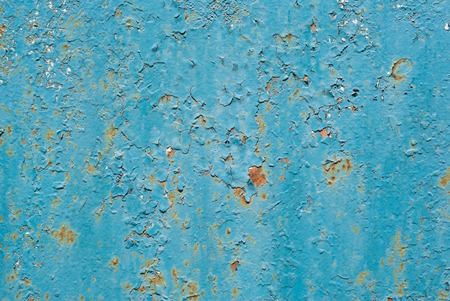 smearing: Abstract background - old metal surface with a shabby paint.