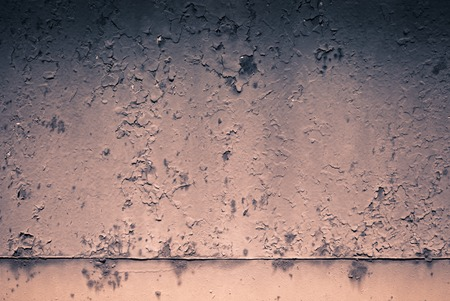 metal monochrome: Abstract background - old metal surface with a shabby paint. Monochrome. Stock Photo