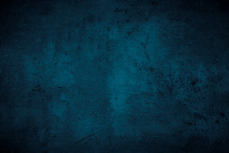 Blue texture dark slate background. Beton concrete surface.