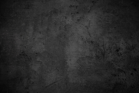 Beton: Black texture dark slate background. Beton concrete surface. Stock Photo