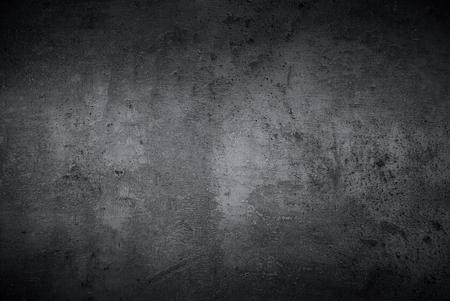 黒のテクスチャの暗いスレート背景。Beton コンクリート表面。