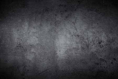 Black texture dark slate background. Beton concrete surface. 写真素材