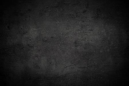 Black texture dark slate background. Beton concrete surface. Archivio Fotografico