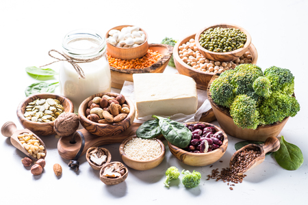 Vegan protein source. Stock Photo
