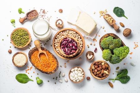Vegan protein source. Archivio Fotografico