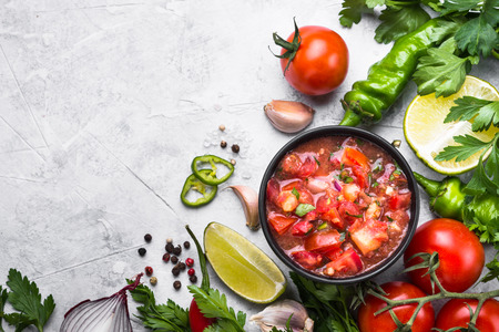 Salsa  sauce mexican food. Stock Photo