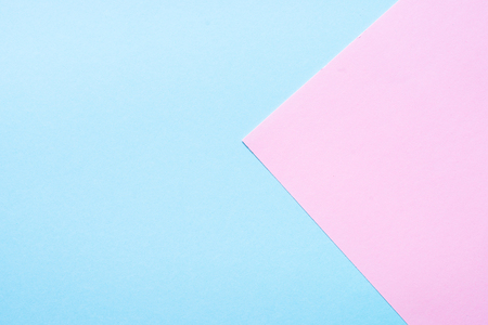 Blue and pink paper background. Stok Fotoğraf