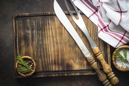 Food cooking background top view. 版權商用圖片