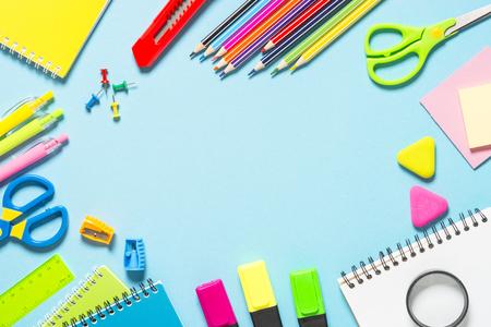 Terug naar school-concept. Stockfoto