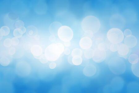 Christmas art abstract background on blue. Фото со стока