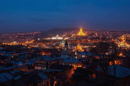 tbilisi: Night in Tbilisi , Georgia