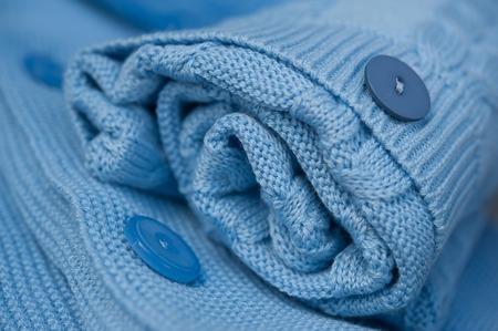 crocheted: gentle beautiful blue crocheted blanket
