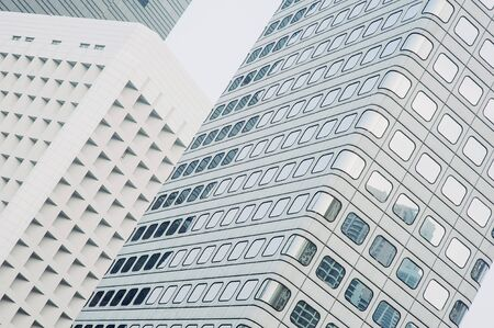 windows in tall buildings business centers