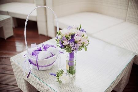 beautiful wedding bouquet of flowers