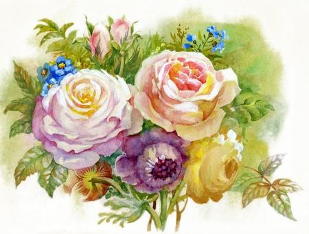 rosas naranjas: Ramo de Rosas