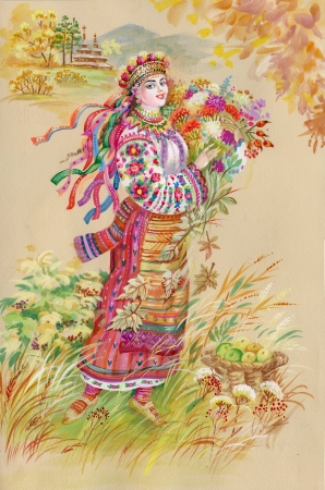 slavic: Painting Collection  Easter slavic tradition