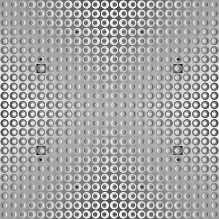 stainless steel sheet: textture of stainless steel sheet with dots and varying shadows