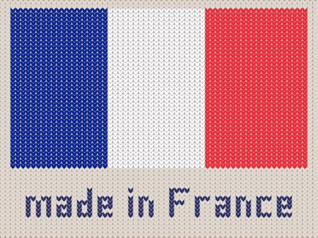 Union Jack Gestrickt Muster, UK Flagge. Moderne Vektor-Ornament ...