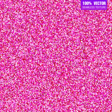 glamorous: Pink glitter vector background. Seamless pattern for wedding invitation, valentine day. Festive and glamorous sparkling gift backdrop, vip card, banner.