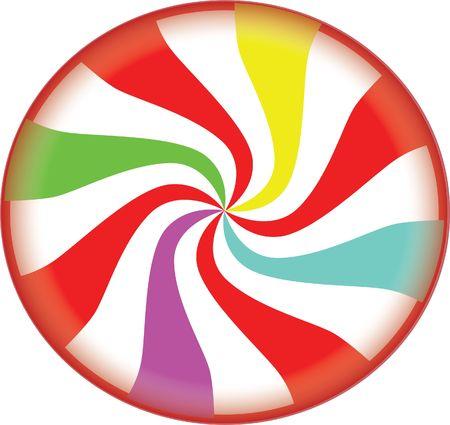 canne a sucre: No�l candy Illustration