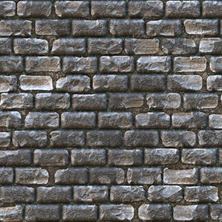 mattoncini: muro di castello, costituito da vecchi mattoni grigi