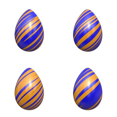biege: easter eggs blue and biege