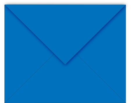 blue mail envelope Vector