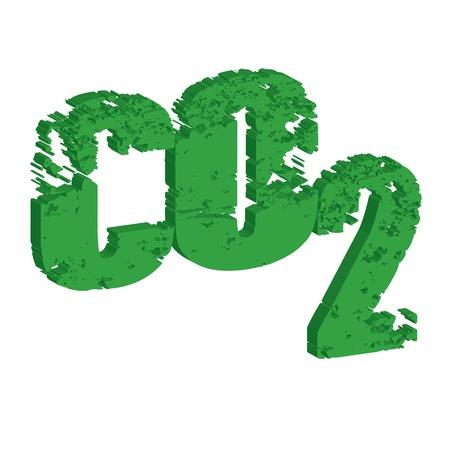 invernadero: emisi�n de di�xido de carbono