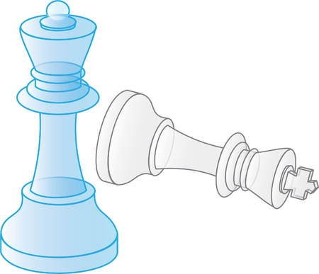check mate in chess Vector