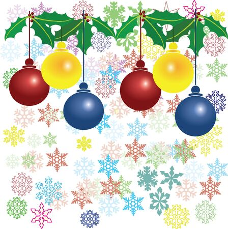 christmas background Stock Vector - 12779034