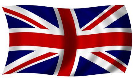 bandera de gran bretaña: Bandera de Gran Bretaña en la onda