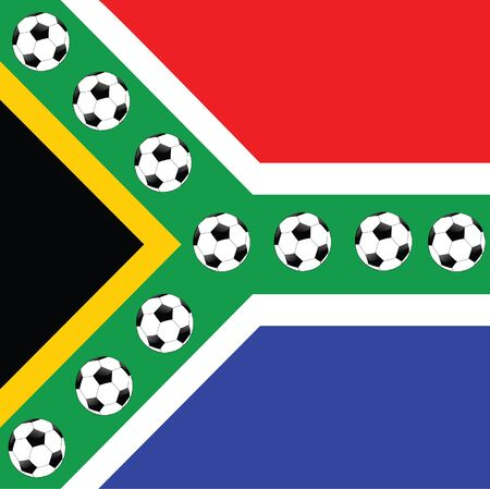 soccer ball in south africa Stock Photo - 13053209