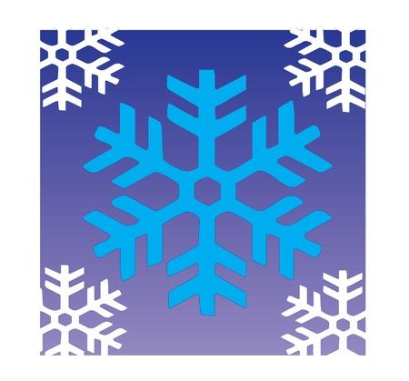 snow flake pattern seamless tile