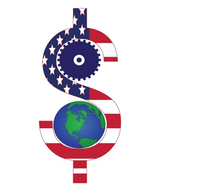 economia: d�lares para la econom�a mundial