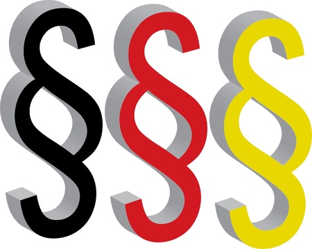 masthead: german law symbol