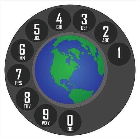 global communication Stock Vector - 13185111