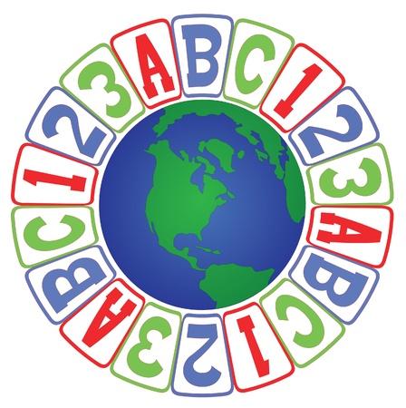 education: global education Illustration
