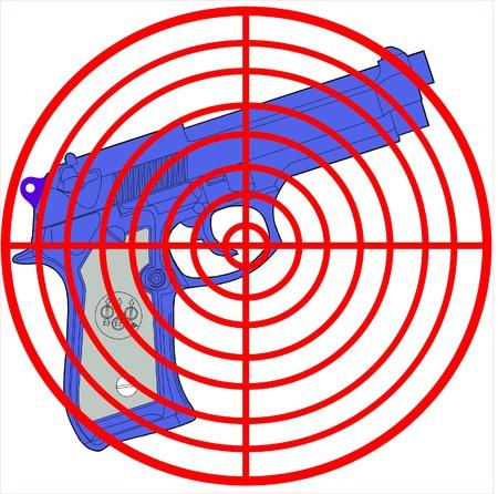gun control Stock Vector - 13304751