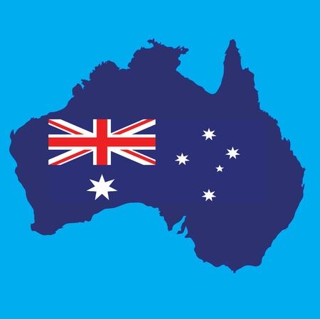 oceana: map of australia