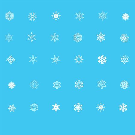 miraculous: snow flakes shapes