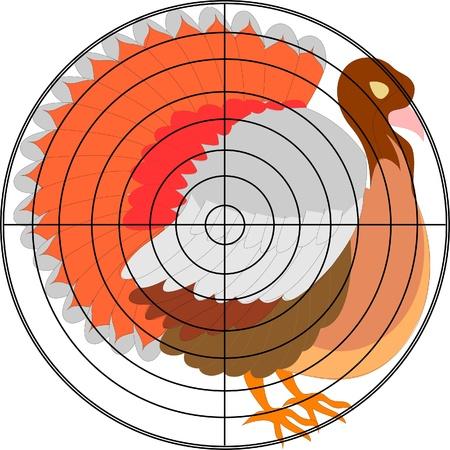 turkey shootb at thanksgiving Stock Vector - 13700268