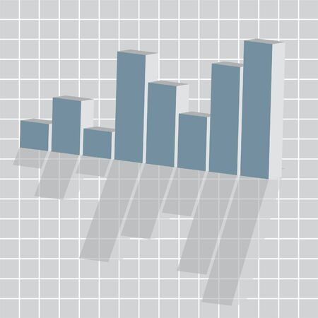 business ups and down graph Vector
