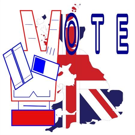 great britain: �lections en Grande-Bretagne, Illustration