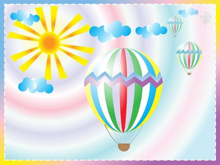 sounding:  vector illustration toy  balloon Illustration