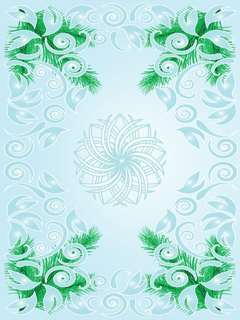Vector Christmas abstract background Stock Vector - 11407865