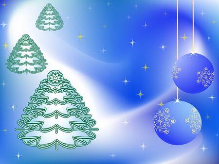 Christmas vector celebratory background Stock Vector - 11660933